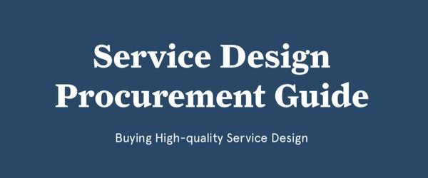 Service Design Procurement Guide | Hellon